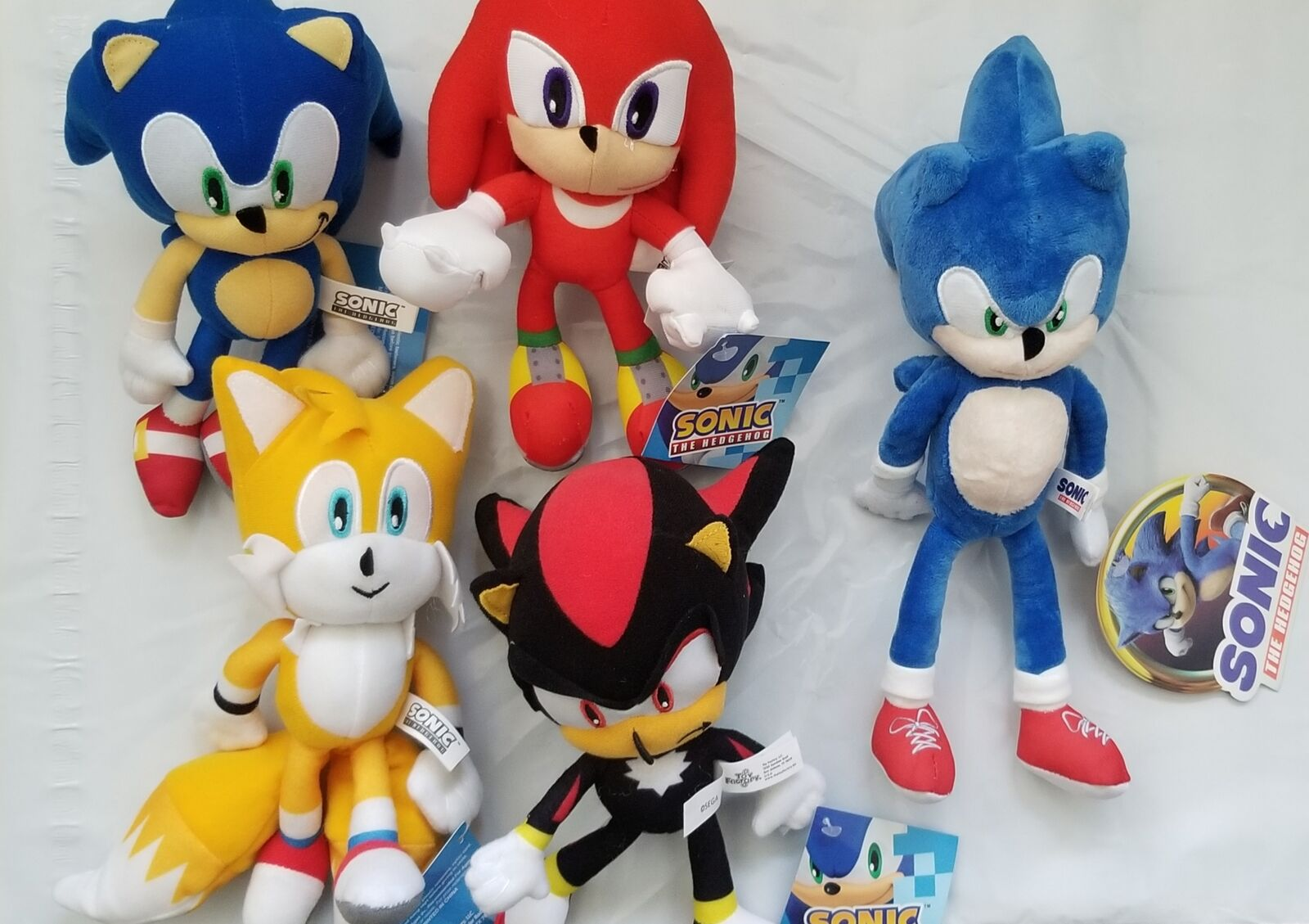 Official Ge Animation Sonic Plush Set Sonic Knuckles Tails For Sale Online Ebay