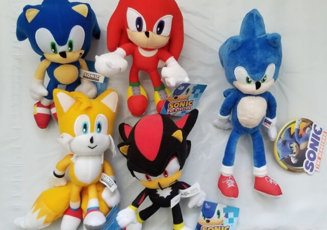 Official Ge Animation Sonic Plush Set - Sonic/knuckles/tails For Sale  Online EBay