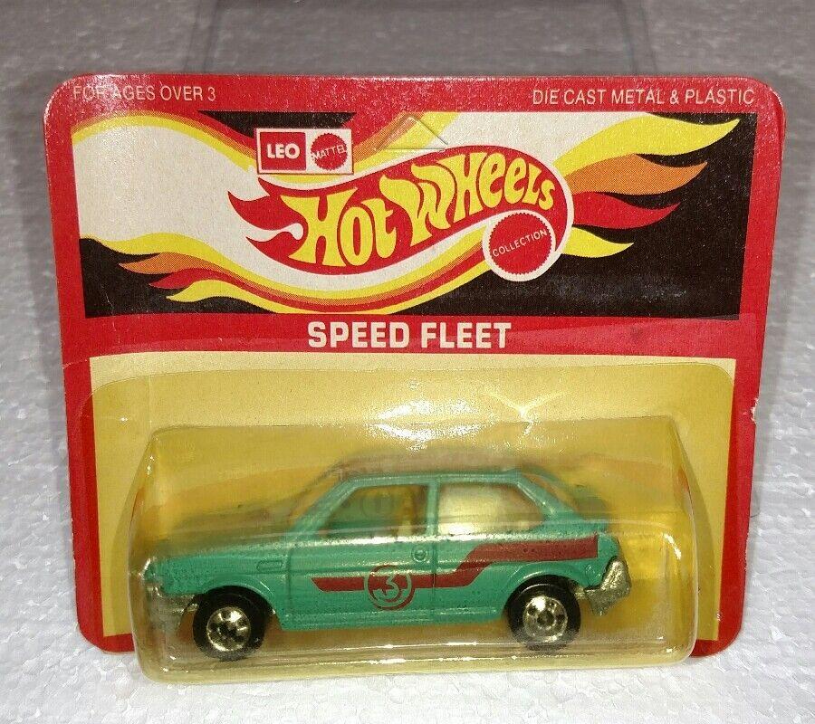 Hot Wheels Mattel ordenación a gran distancia India Fiat Ritmo Speed Fleet Verde ENLOMADOR Nuevo