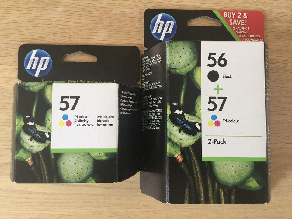 Printer patroner, HP, 56 og 57
