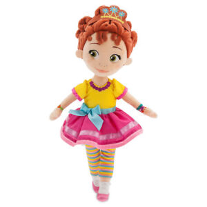 Disney-Authentic-Fancy-Nancy-Plush-Toy-Doll-13-1-2-034-H-New-With-Tags