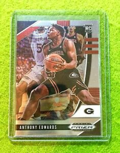 ANTHONY-EDWARDS-PRIZM-ROOKIE-CARD-JERSEY-5-GEORGIA-RC-TIMBERWOLVES-2020-Prizm