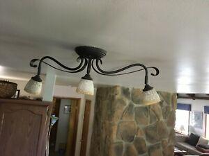 Details About 2 24 In 3 Light Black Led Adjule Track Lighting Kit Ceiling Or Wall Mount
