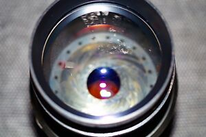 40cm-ANTIQUE-400mm-AERIAL-Lens-AIRCRAFT-SPACE-PROBE-LENS-LUFTWAFFE-RB-40-12