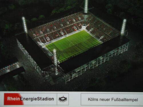 Stadionpostkarte Rhein Energie Stadion Köln # Fußballtempel