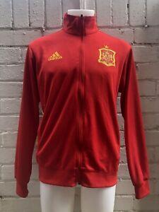 Adidas-Originales-Track-chaqueta-superior-XXL-Rojo-Espana-Espanol-FC