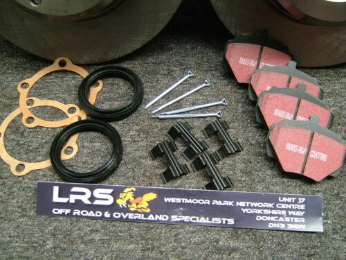 kit montage pads Land Rover Defender 90 1994 /& gtpresent nouveau disques de frein arrière
