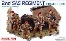 Dragon 1/35 6199 WWII British 2nd SAS Regiment (France 1944) (4 Figures)