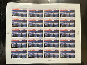 Scott #C147 GRAND TETON MNH Sheet of 20 US Airmail 98¢ Stamps 2009