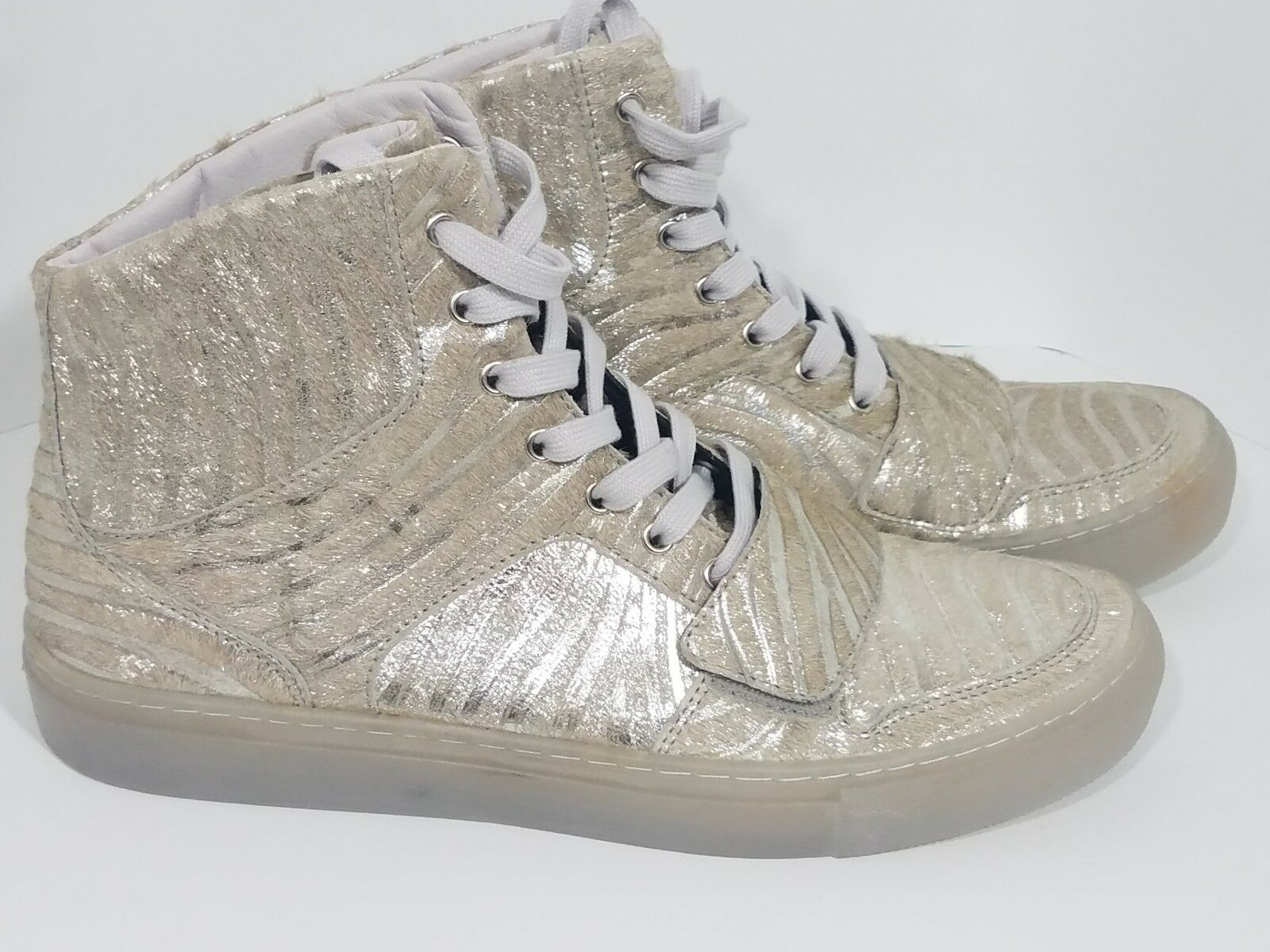 RARE NEW Creative Recreation Mens CR31124-SGREY High Top shoes - Sz 9 - Sample