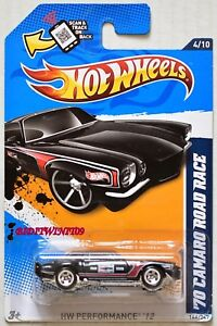 HOT-WHEELS-2012-HW-PERFORMANCE-039-70-CAMARO-ROAD-RACE-4-10-BLACK