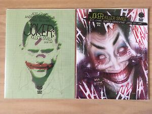 NEW!!! THE JOKER KILLER SMILE VARIANT COVER  #1 BY DC!