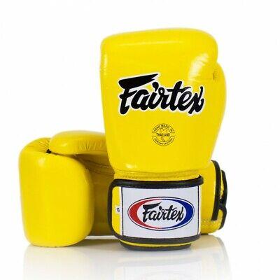 Fairtex Boxing Gloves 3-Tone Blue BGV1 Muay Thai Sparring Kickboxing Training