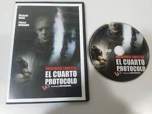 Il Quarto Protocollo Frederick Forsyth MICHAEL Caine Pierce Brosnan DVD Slim