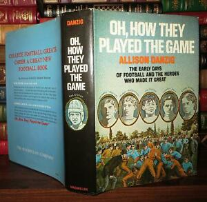 Danzig, Allison OH, HOW THEY PLAYED THE GAME  1st Edition 2nd Printing