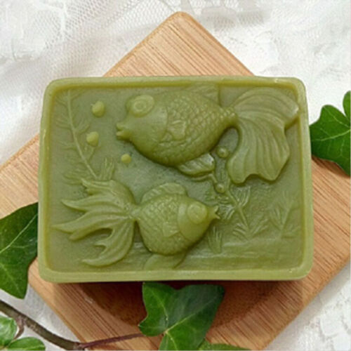 TWO FISHES 116 silicone soap molds for handmade Craft DIY