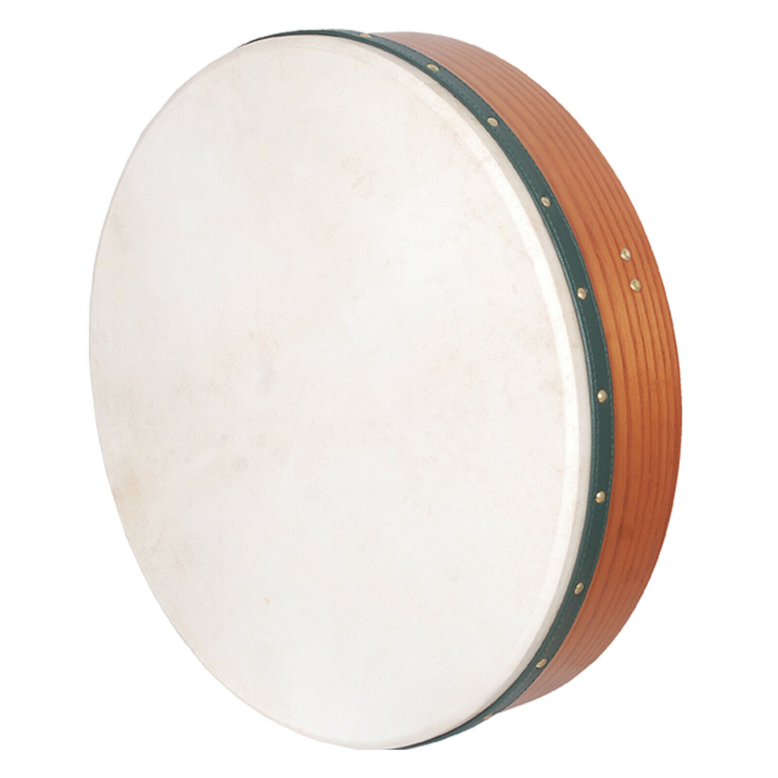 Muzikkon 18 x4  Irish Bodhran Drum non-tunable rot Cedar Natural Finish