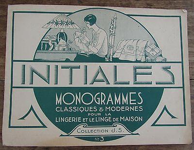 Gedisciplineerd Collection J.s Initiales Monogrammes Pour Lingerie Et Linge De Maison N°3