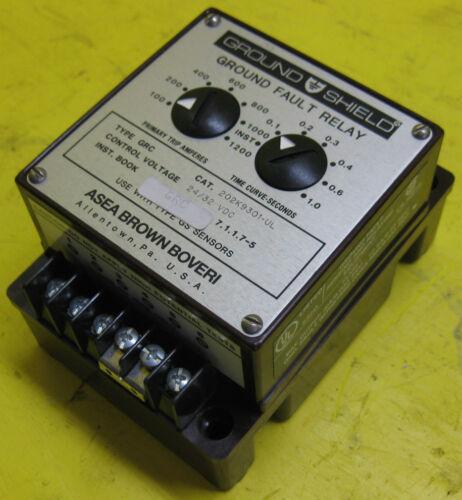 Asea Brown Boveri GRC 202K9301-UL Adjustable Ground Fault Relay 24//32VDC PLC ABB