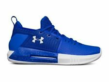 5f7dbeebfd82  NEW  UNDER ARMOUR Sz 18 Drive 4 Low Men s Basketball Shoes Royal Blue