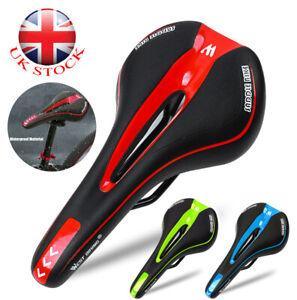 Comfortable Soft Gel Pad Cushion Saddle Seat MTB Mountain Bike Road Bicycle UK