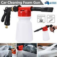 AU 900ML Pressure Foam Soap Water Car Wash Sprayer Gun Cleaning Hose Pipe