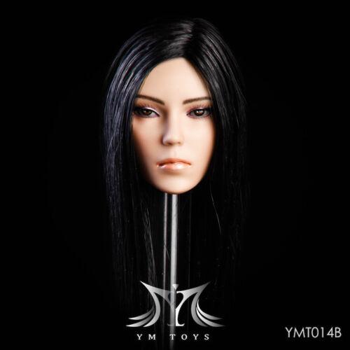 YMTOYS 1/6 YMT014B Head Carving Head Model F 12Female Figure Doll