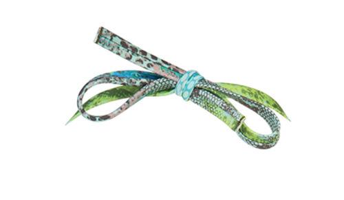 /'Green Snake Print/' Bandeau Bikini Top by Sapph Animal Print Bikini Top