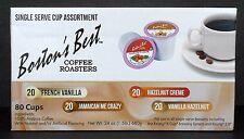 Coffee Pods Keurig Flavored K Cups 80 Vanilla Hazelnut Jamaican Bostons Best