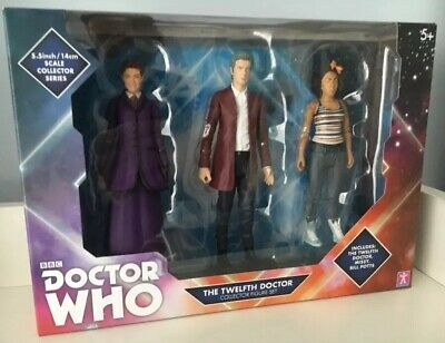BRAND NEW BOXED SET of Dr Who Figures /'12th Doctor/' Set Collectable