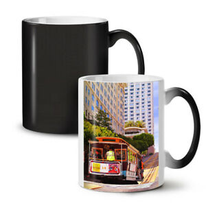Tram USA Street Life City NEW Colour Changing Tea Coffee Mug 11 oz   Wellcoda