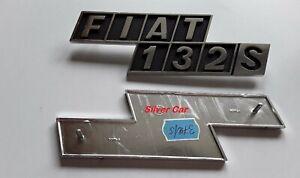 Embleme-Arriere-Aluminium-Fiat-132-S