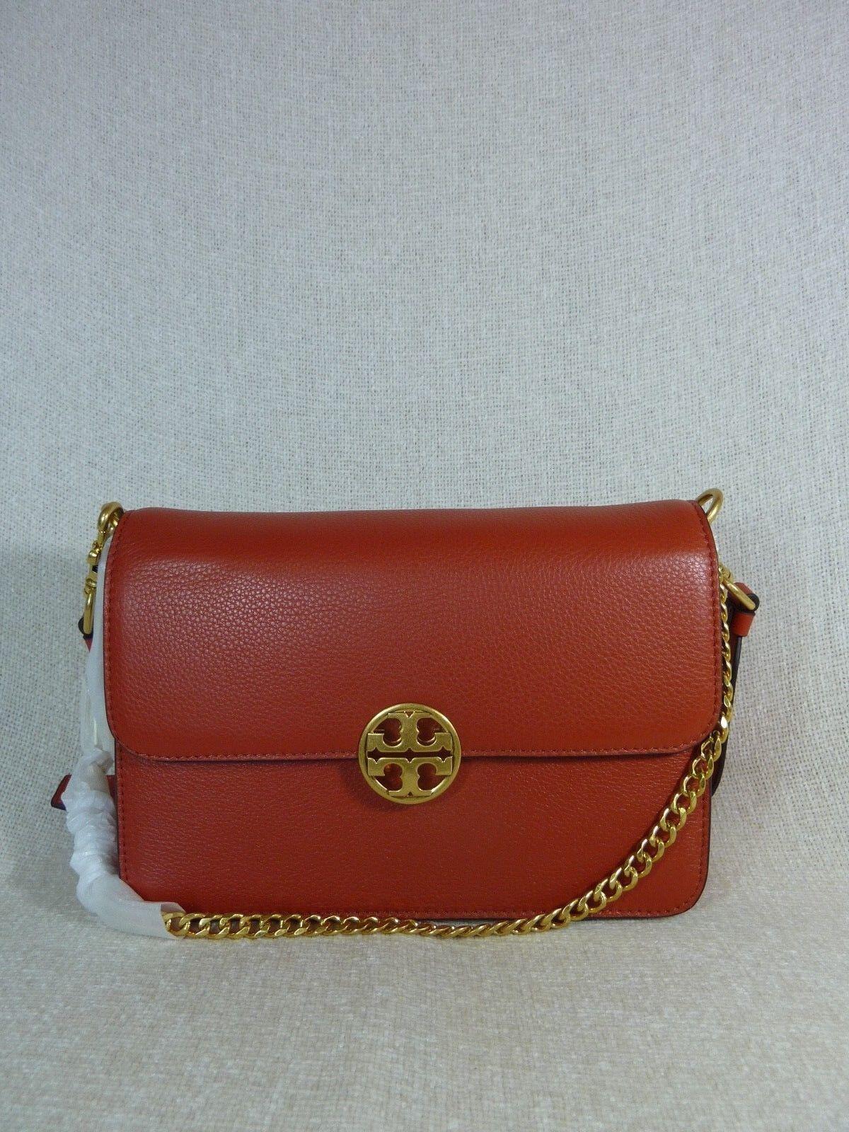 fe522dc40d6c Tory Burch Chelsea Convertible Shoulder Bag Kola 48735 for sale online