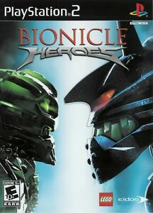 Bionicle Heroes - Playstation 2 Game Complete
