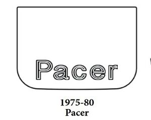 1975 1980 Amc Pacer Trunk Rubber Floor Mat Cover With A