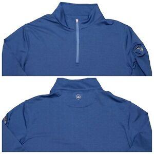Peter Millar 1/2 Reißverschluss Crown Sport Pulli Sweater Orlando Magic NBA blau XL