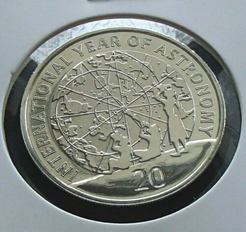 2009 Australia 20 Cent Coin Year of Astronomy m//set Uncirculated 20c specimen
