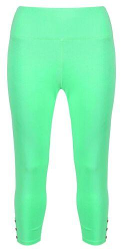 Mudd /& Water Womens Crop Leggings Organic Cotton Sea Green Mint