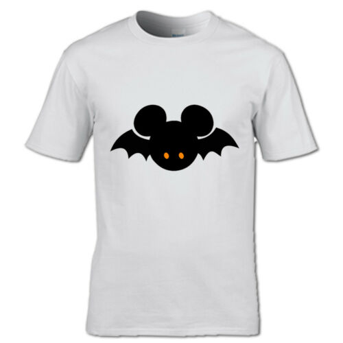 His And Hers Bat T-shirt couples partner two Halloween Witch Scary Spooky Ghost