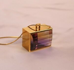Ametrine pendant necklace