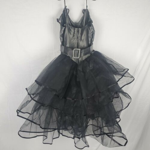 Rhonda Harness Foxy Lady 7220 Black Dress With Bel
