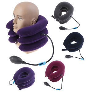 Cervical-Neck-Traction-Device-Collar-Brace-Support-Pain-Relife-Stretcher-JE