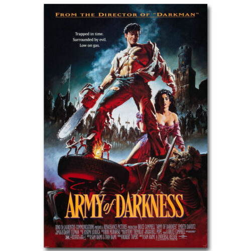 Army of Darkness Evil Dead Movie Silk Fabric Poster 13x20 24x36 inch
