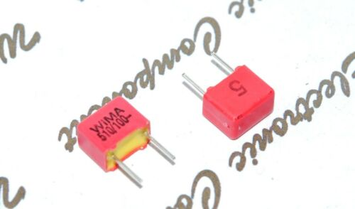 100V pitch:5mm 5/% Capacitor WIMA FKP2 510P 10pcs 510PF 0.51nF