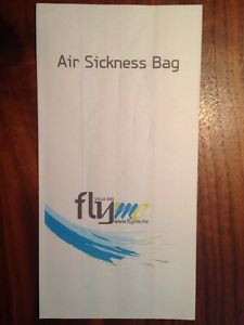 Air Sickness Bag Barf Bag Kotztüte Villa Air Fly Me Malediven OLD Design - Deutschland - Air Sickness Bag Barf Bag Kotztüte Villa Air Fly Me Malediven OLD Design - Deutschland