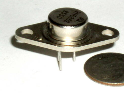 1 POWER TRANSISTOR 2N6352 6352 TO-66 NPN DARLINGTON TO-213A SHIP FROM USA