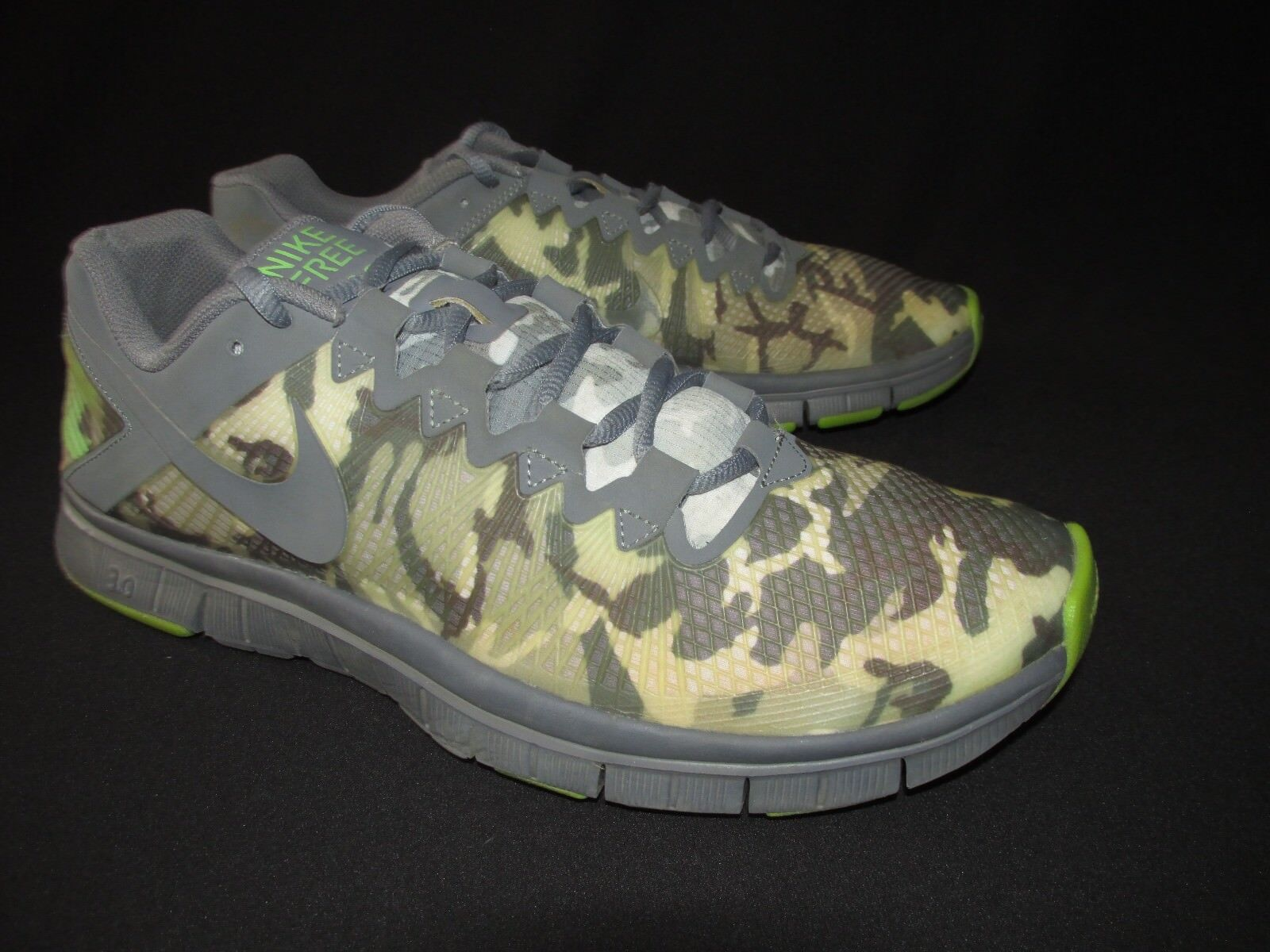 Great discount Nike Free 3.0 Trainer Camo Running Shoes 625164-002  Men's 11.5M
