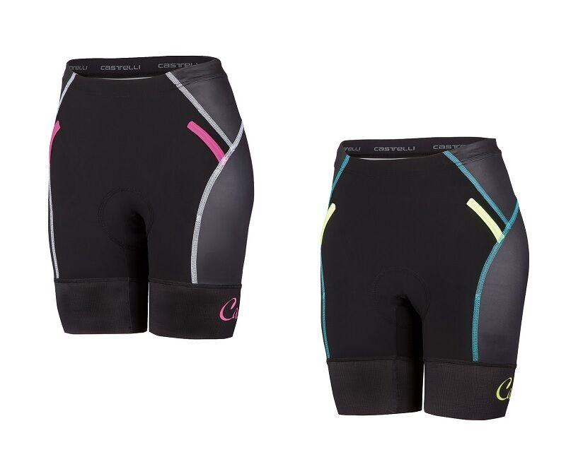 Castelli Free W Tri Sitzpolster Short Damen Fahrrad-/Triathlonhose Sitzpolster Tri - 8616078 88770c