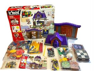 K'NEX Nintendo Super Mario 3D Land GHOST HOUSE Building Set Limited Ed. 90% Comp