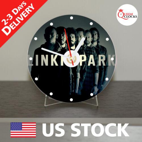 NEW Linkin Park CD Clock Band Rock Chester Bennington Art decor unique peace USA